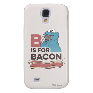 Cookie MonsterB is for Bacon Samsung Galaxy S4 Covers