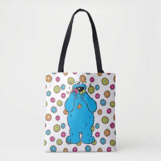 Cookie MonsterDonut Destroyer Tote Bag