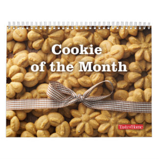 Cookie of the Month Wall Calendar