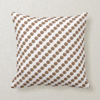 Cookie Pillow - Chocolate Chip Cookie Print Throw Cushion