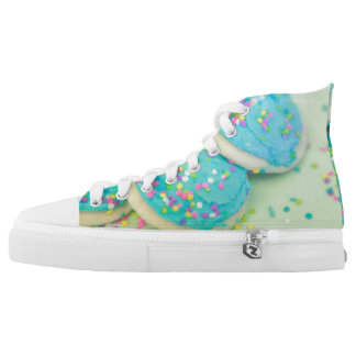Cookie shoes! The cookies you wear on your feet! Printed Shoes