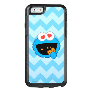 Cookie Smiling Face with Heart-Shaped Eyes OtterBox iPhone 6/6s Case
