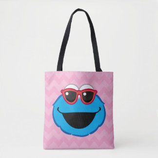Cookie  Smiling Face with Sunglasses Tote Bag