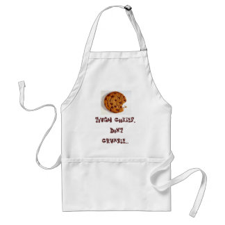 cookie, Tough Cookies, Don't Crumble... Standard Apron