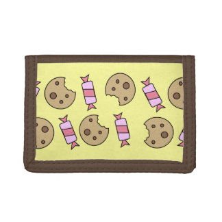 Cookies and Candy Trifold Wallet