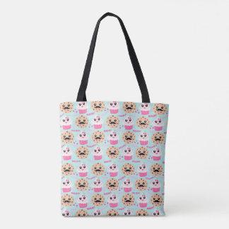 Cookies and Cupcakes Cute Totes Bag Tote Bag