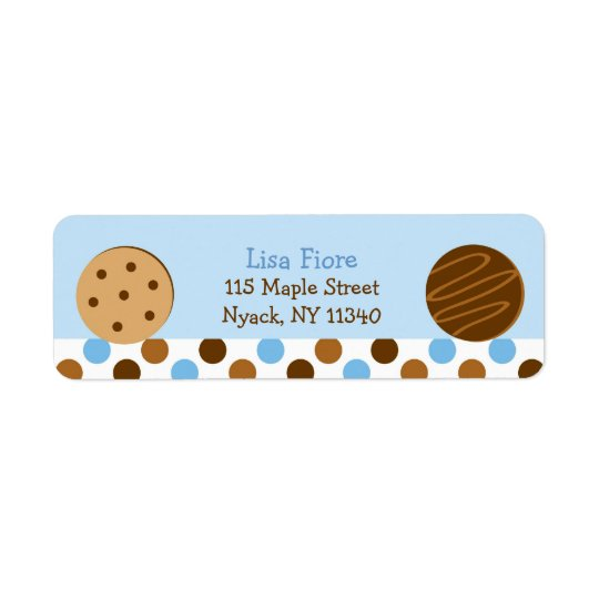 Cookies and Milk Address Labels