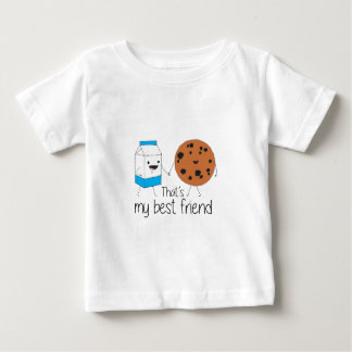 Cookies and Milk - Best Friends Baby T-Shirt