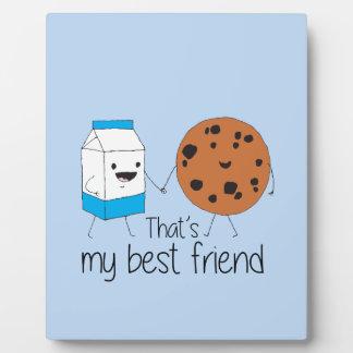 Cookies and Milk - Best Friends Plaque