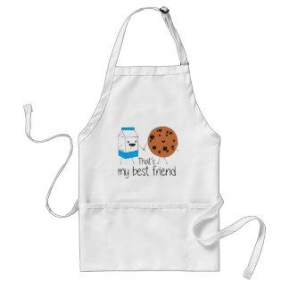 Cookies and Milk - Best Friends Standard Apron