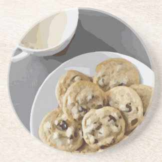 Cookies and Milk Coaster