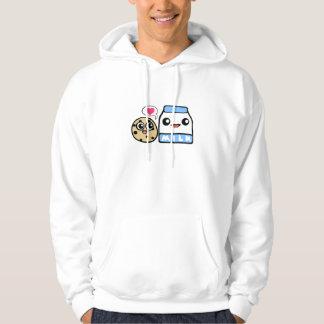 Cookies and Milk Hooded Sweatshirts