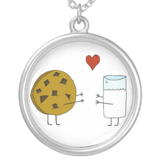 Cookies and Milk Necklace