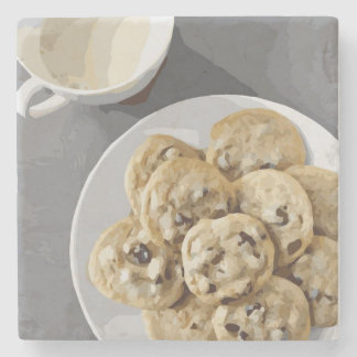 Cookies and Milk Stone Coaster