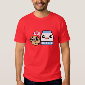 Cookies and Milk T Shirts