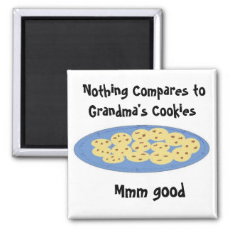 Cookies At Grandmas House Magnet