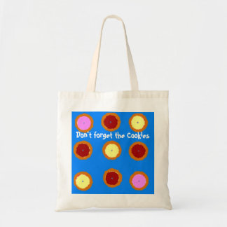 Cookies Budget Tote Canvas Bags