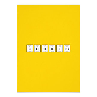 Cookies Chemical element Z57c7 Card