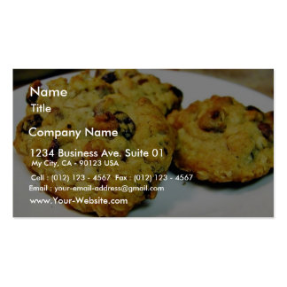 Cookies Chocolate Chip Business Card Templates