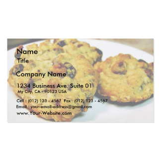 Cookies Chocolate Chip Business Card Template