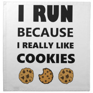 Cookies for health, Run running Napkin