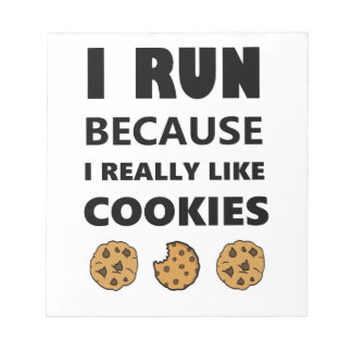 Cookies for health, Run running Notepad