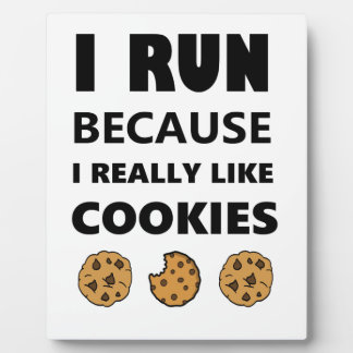 Cookies for health, Run running Plaque