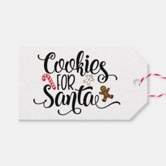 Cookies for Santa Christmas Gift Tags