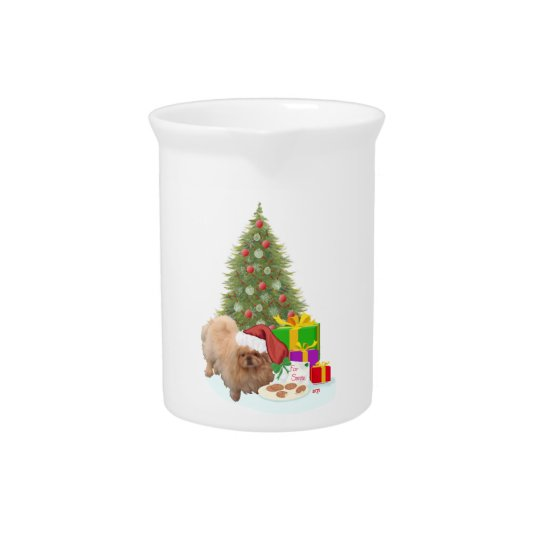 Cookies for Santa Claus Beverage Pitcher