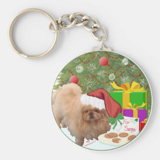 Cookies for Santa Claus Key Ring