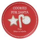Cookies For Santa Personalised Cookie Trio Plate