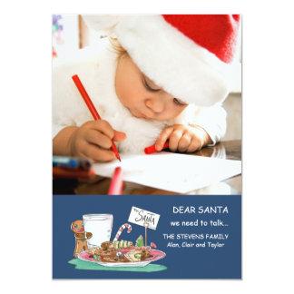 Cookies for Santa Photo Card
