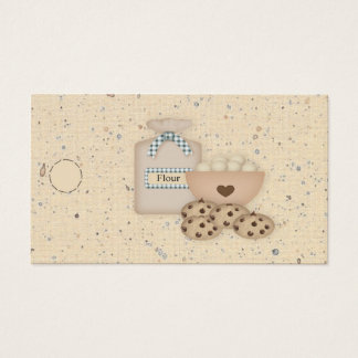 Cookies Hang Tag Business Card
