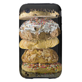 Cookies in a stack tough iPhone 3 case