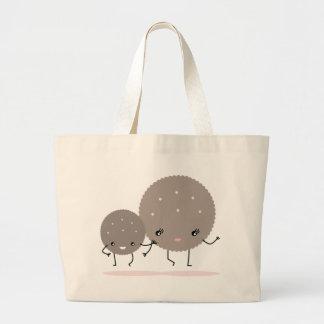 cookies large tote bag