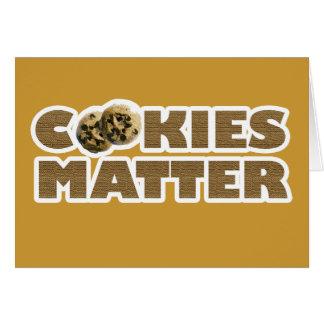 Cookies Matter Card