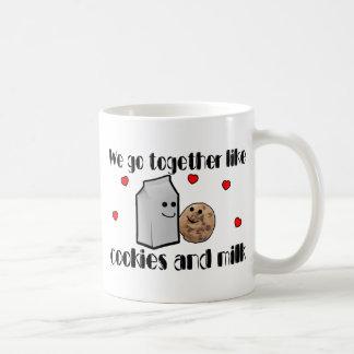 Cookies & Milk Love Coffee Mugs