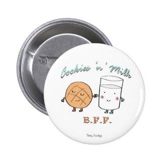 Cookies N Milk BFF Button