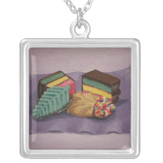 Cookies Painted Necklace