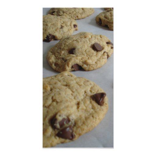 Cookies Personalized Photo Card