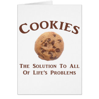 Cookies solve Problems Card