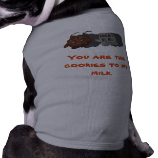 Cookies to my Milk Sleeveless Dog Shirt