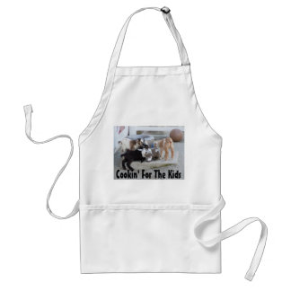 Cookin' For The Kids Standard Apron