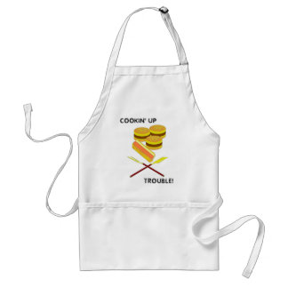 COOKIN' UP TROUBLE! STANDARD APRON