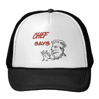 Cooking Chef Funny Cap