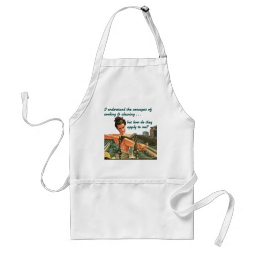 Cooking & Cleaning Concepts Apron