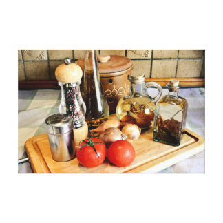 Cooking for Fun Canvas Print