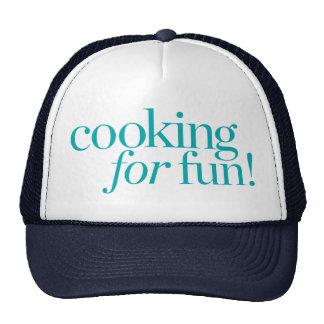 Cooking For Fun Cap
