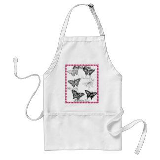 Cooking Gardening CricketDiane Butterflies Standard Apron