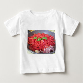 Cooking homemade tomato sauce baby T-Shirt